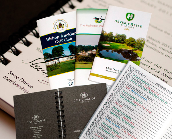 K&M Golf supply a range of golf fixture books and golf diaries to golf clubs throughout the United Kingdom